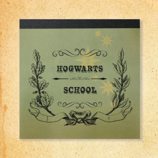 harry potter メモパッド スクエア hp 003 subjects ハリー ポッター