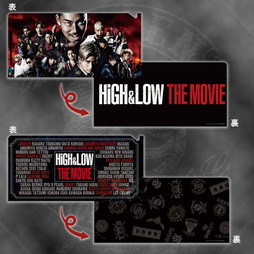 HiGH&LOW THE MOVIE チケットホルダーセット