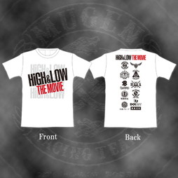 HiGH&LOW THE MOVIE Tシャツ(ホワイト)