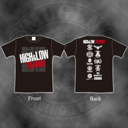 HiGH&LOW THE MOVIE Tシャツ(ブラック)