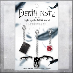 DEATH NOTE Light up the NEW world メタルチャームセット