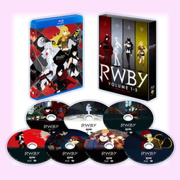 RWBY VOLUME 1-3 Blu-ray SET <初回仕様版>