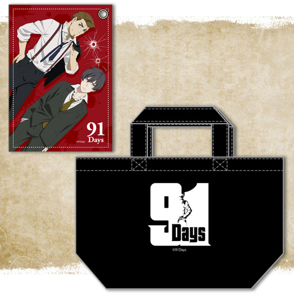91Days トートバッグ&パスケースセット